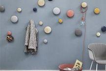 Inspiration - Dots de Muuto / Donnez une touche de modernisme gaie et colorée à vos intérieurs avec les patères Dots de Muuto.