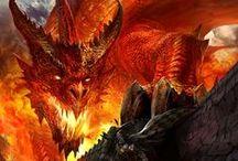 Animal • Fantasy & Monsters / Dragon, gryphon, hypogriff, phoenix, werewolf, chupacabra, manticore, kraken, leviathan, cthulu...