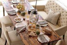 Dining Room Decor Ideas / Dining Room Decor, Home Decor, Decorating Ideas, Dining Room Table, Bar, Room Design Ideas, Kitchen Decor Ideas, Dining Room Furniture,