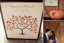 Fall wedding decorations