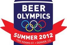 Beer Olympics Themed Party