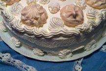 Torta chantilly / Panna chantilly e meringhe