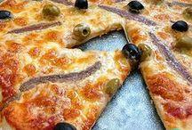 Cocas, pizzas y hojaldres