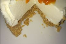 Cheesecake con composta di pesche...