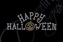 Halloween Rhinestone Transfers / Halloween Rhinestone Transfers