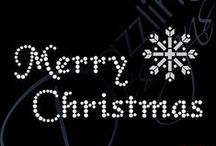 Christmas Rhinestone Transfers / Christmas Rhinestone Transfers for girls and ladies DIY Rhinestone T-shirts.  To see more visit: http://www.dazzlingdesignsinc.com/christmas-rhinestone-transfers?rid=pinterest-christmas