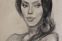 My Portrait Drawings