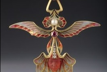 Art Nouveau Jewelry / Art Nouveau Jewelry.  Mostly from 1890 - 1920, with a few exquisite modern examples. / by Ravin' Mayven