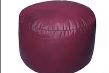 Bean Bag FOOTSTOOLS / Check out our footstools that match perfectly with your bean bag chairs!