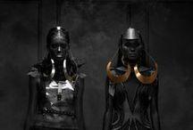 Fashion Is My Drug / #fashion #dark #geek #elegant #psycho #scifi #sexy #game