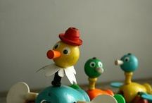 Vintage Toys & Games / I love vintage toys and games, I'm a big collector / by Deneen Lodato