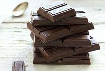 Chocolat  / Le Chocolat est ruine, bonheur, plaisir, amour, extase, fantaisie... (Elaine Sherman) / by Benoit