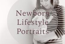 RJM Newborn and Infant / Newborn lifestyle sessions at home or studio