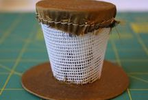 Patterns/Tutorials - Headwear / Patterns and tutorials for hats and headwear of all periods.  Includes steampunk styles, fascinators, etc.   / by Ravin' Mayven