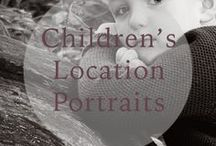 RJM Children location portraits / Children's portraits at the woods or beach in Northumberland