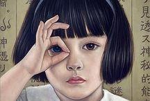 Augenfutter /Illustration / liebe liebe diese