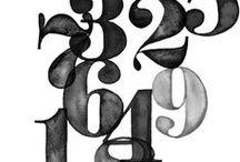 Chiffre / 1.2.3.4.5.6.7.8.9........... / by Benoit