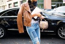 buy less, think more: leather jacket / This board is full of outfit inspiration and ideas to help maximise your cost per wear. www.stylestaples.com.au