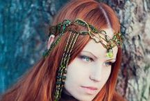 Fantasy Fashion / Elves, fairies, mideval, pirates, steam punks and more.