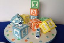 Baptism and Baby Shower Cakes