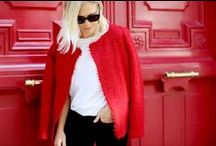 colour: red / Colour, it is everywhere but have you ever paid attention to it? Your favourite colour can tell a lot about your personality. If you love red, these are the words that best describe you; extroverted, optimistic, ambitious, competitive. www.stylestaples.com.au