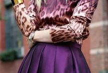 colour: purple / Colour, it is everywhere but have you ever paid attention to it? Your favourite colour can tell a lot about your personality. If you love purple, these are the words that best describe you;  sensitive, compassionate, understanding, supportive. www.stylestaples.com.au