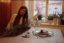 Cómo vestir la mesa / Como poner la mesa. Colocación de los cubiertos. Colocación de los vasos. Poner la mesa. Protocolo de mesa.