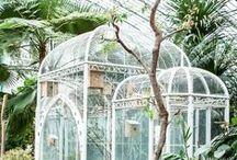 Novia botánica / Inspiración para bodas y novias que tienen una debilidad por todo lo botánico. Las bodas con temática botánica son muy bonitas y además mas baratas en cuanto a decoración, pues suele predominar el verde en la deco.