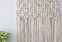 Macrame / Macrame DIY projects and inspiration.