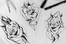 ink art,♡
