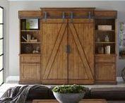 BARN DOOR ENTERTAINMENT CENTERS / Barn doors entertainment centers are all the rage. Perfect for that rustic or urban farm house style. With so many unique brands to choose from, we're certain we can find the right one for your home or space. Here are a list of our favorites that you can find through Modelhom. Enjoy!