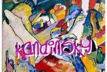 ARTIST: KANDINSKY / by ALWYN