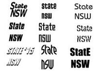 Netball NSW State Logo Design Moodboard / Inspiration for 2015 Netball New South Wales State & State Age Championships logo concepts