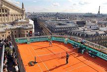 Tennis courts / Tennisbaner / by Darius Monfared