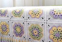 knitting/crochet: blanket
