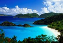 Exotic places / Featuring places like Bora Bora,The Maldives,Greece,Island of Cocos and The Caribbean, this will definatly make u want to save up your money and by a plane ticket / by YourFavoriteHater