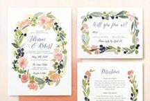 Inspiration: Wedding Invites