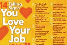 """Cooler Than Your Job / Do you have the best job around? Find out ways to make certain you can feel confident in saying, """"My job? My job is #CoolerThanYourJob!"""""""