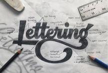 h a n d  l e t t e r i n g / Ideias, inspirações e projetos de hand lettering nacionais e internacionais.