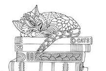 Boeken en katten / Boeken en katten, de twee gaan goed samen!