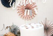 Elegant Bliss decorations