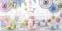 Pastelove Collection / If you like it gentle and mellow, be inspired by our Pastelove Collection <3 Check out our Facebook and Instagram for more inspirations: https://www.facebook.com/PartyDecoPl https://www.instagram.com/partydeco.pl/