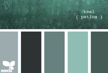 Color: Teal + Turquoise