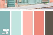 Color: Pink + Turquoise