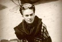 ))░❤░(( Frida ))░❤░(( / Magdalena Carmen Frida Kahlo Calderón, mejor conocida como Frida Kahlo (Coyoacán, 6 de julio de 1907 – ibídem, 13 de julio de 1954), fue una destacada pintora mexicana. (Wikipedia) / by ✿ Gabriella Laura  ✿