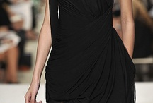 """LITTLE BLACK DRESS / """"ONE IS NEVER OVER-DRESSED or UNDER-DRESSED WITH A LITTLE BLACK DRESS.""""  —  Karl Lagerfeld"""