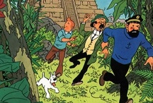My Tintin / Kuifje comic books