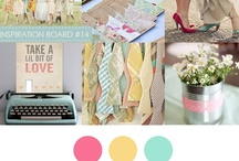 Color: Pink + Turquoise + Yellow