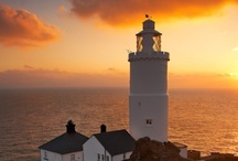 """THE GUIDING LIGHT / We are told to let our light shine, and if it does, we won't need to tell anybody it does. Lighthouses don't fire cannons to call attention to their shining- they just shine.""""   Dwight L. Moody quotes (American Evangelist, 1837-1899)"""