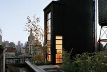 Black Houses / Ten Houses showcased in Gardinesta ... because they are black.  Strangely enchanting, I find them.